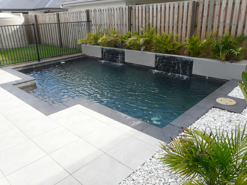 custom designed swimming pool